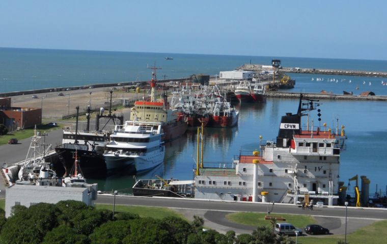Mar del Plata port, Argentina's fishing industry hub