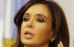 The Argentine president said she's not stubborn or obstinate, rather listens to better ideas