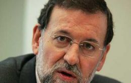 Rajoy said the re-nationalization has more to do with Argentina's standing weakness than Spain's current fragility