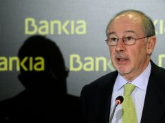 Former IMF chief Rato stepped down from Bankia on Monday  (Photo: AFP)