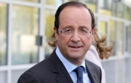 """A pleasure to discuss with you common interests"", said French president elect Hollande"