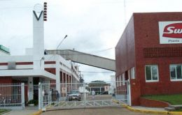 The closed plant in San Jose was sold to the province of Entre Rios