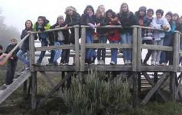"The students lived with host families, visited Torres del Paine park and enjoyed an ""amazing time"""