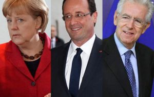 Crucial summit in Brussels will face Merkel, Hollande and Monti