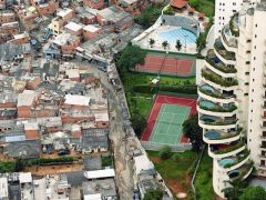 The report does not include the millions living in the favelas