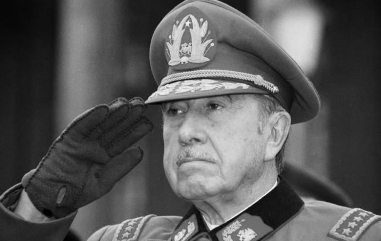 The long shadow of Pinochet is still present in the country he ruled with an iron fist for 17 years