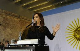 Cristina Fernandez proud that a worker will now run the ILO