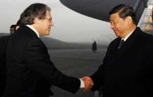 Foreign minister Almagro spent four days in China promoting Uruguay