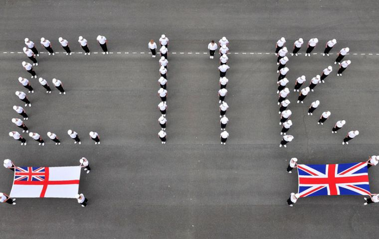 The Royal Navy and the other services also paid tribute to the Queen on occasion of the Diamond Jubilee year from around the world.