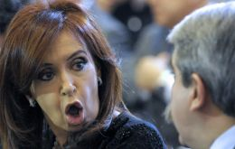 "CFK asked his faithful vociferous preacher if he was taking ""wise-guy"" pills"