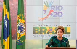 "Rousseff: ""more than 80% of the Amazon's original vegetation remains intact"""