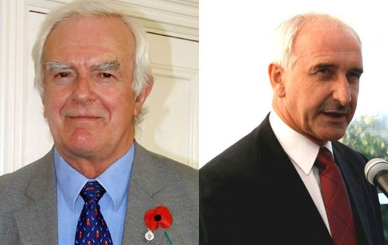 MLAs Rogers and Summers will represent the Falklands next June 14