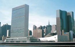 The delegation will have a chance to come across at the UN in New York on Thursday