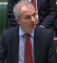 Minister Lidington made the statement to the House of Commons