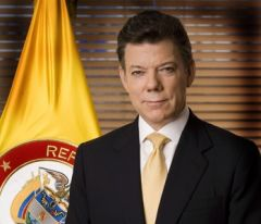 President Juan Manuel Santos sponsored the Legal Framework for Peace