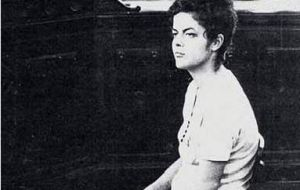 The Brazilian president when she was arrested at the age of 22