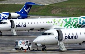 A bad year for Chorus Aviation, in April it lost the Thomas Cook Canada contract and now Pluna