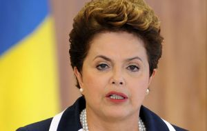 Rousseff said Paraguay could be expulsed from the two organizations