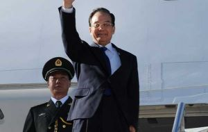 The Chinese president arrived in Argentina Saturday