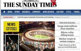 The Sunday Times broke the news over the weekend