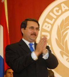 President Franco has been confirmed by the Supreme Court and Electoral Tribunal