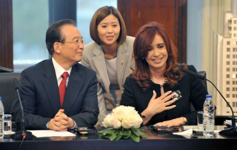 Wen Jiabao visit coincided with the fortieth anniversary of the establishment of diplomatic ties