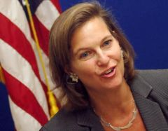 "Ms Nuland, ""I was very careful to say we hadn't used the word (coup)"""