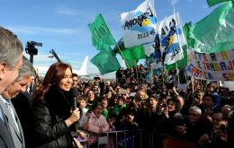 Our priority is to ensure jobs for our people, said Cristina Fernandez