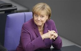 A happy day for Chancellor Merkel…and for Spain and Italy