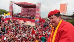 """The Bolivarian hurricane has begun!"" roared Chavez"