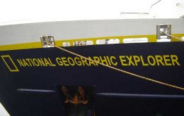 National Geographic Explorer is booked as the first arrival next October