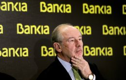 Bankia former chairman and ex-IMF managing director Rodrigo Rato