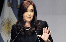 Cristina Fernandez is after all the dollars available
