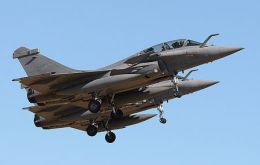 France' Dassault is offering the Rafale fighter