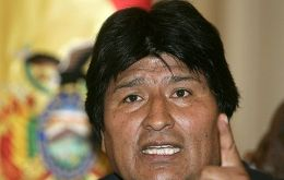 """Nationalization is our obligation"", said Evo Morales"