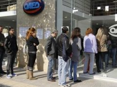 Euro zone jobless figure stands at 17.5 million people