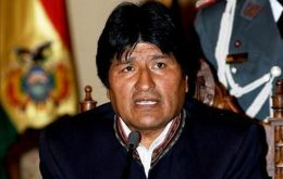President Evo Morales yielded to indigenous groups