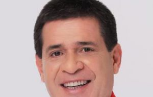 Horacio Cartes is one of the main candidates for next year's presidential election