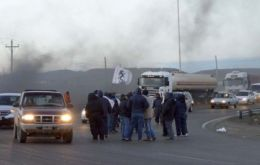 Strikers calling themselves 'dragons' occupied the premises and destroyed company's property