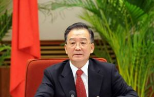 Premier Wen Jiabao said that boosting investment would also be crucial for stabilising growth
