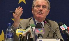 MEP Luis Yañez-Barnuevo Garcia is scheduled to meet President Franco Monday