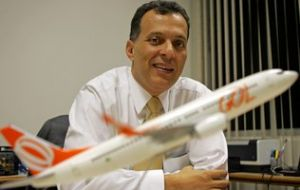 Leonardo Gomes Pereira is currently chief financial officer of Brazilian airline Gol