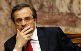 "PM Antonis Samaras going through a ""great depression"" like the US in the thirties"