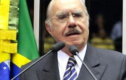 Jose Sarney, head of the Brazilian Senate and powerful ally of President Rousseff