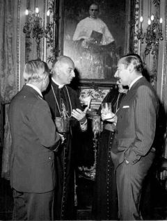 Cardinal Primatesta met regularly with Videla and Papal nuncio Laghi played tennis with Masssera