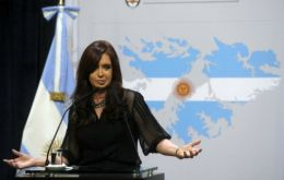 The administration of President Cristina Fernandez has applied 168 restrictive measures since 2009