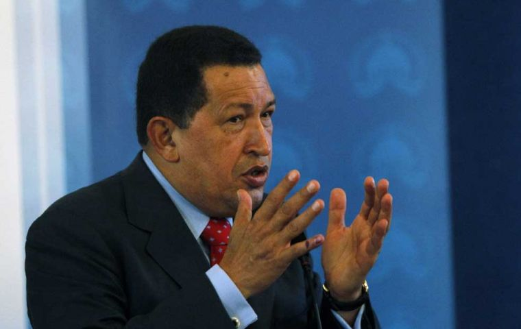"""We are leaving the Inter American Human Rights Court out of dignity"", said Chavez"