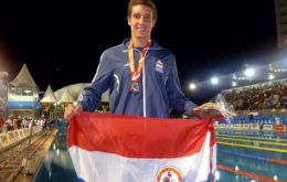 Second Olympics for Benjamin, and proud to represent Paraguay