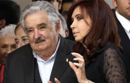 Cristina Fernandez, Jose Mujica and Hugo Chavez are expected on Monday afternoon for the Tuesday summit in Brasilia