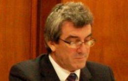 Falklands' government CEO Keith Padgett